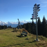 Top of the Rosta Chairlift
