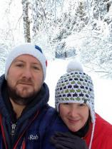 Craig & Jen - your hosts Up the Alps'