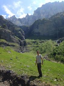 Hiking at Sixt fer a Cheval