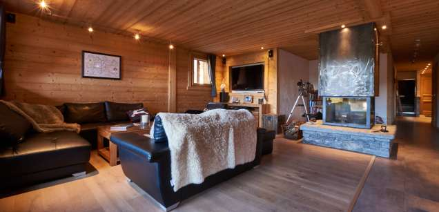 Living area - Chalet Virolet