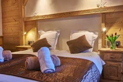 Bedroom at Chalet Virolet