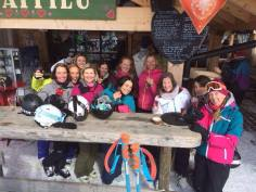 Ladies who ski and lunch!