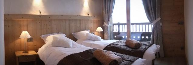 Wetzet twin bedroom